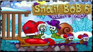 Snail Bob 6 Winter Story Full Game Walkthrough (All Levels)