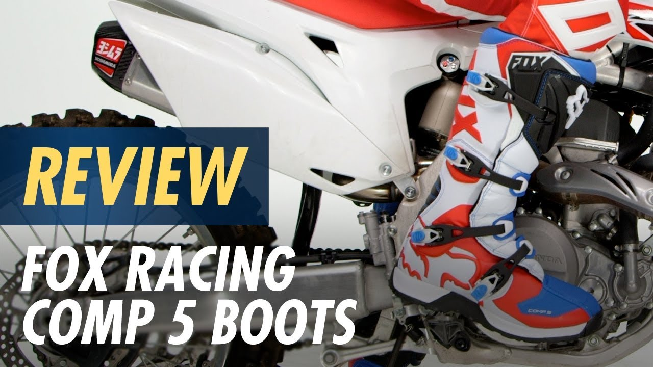65844c9a6a0 Fox Racing Comp 5 Boots Review at CycleGear.com - YouTube