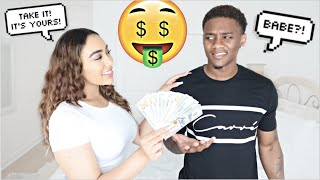 Giving My Boyfriend $100 Every Time He Calls Me BABE!