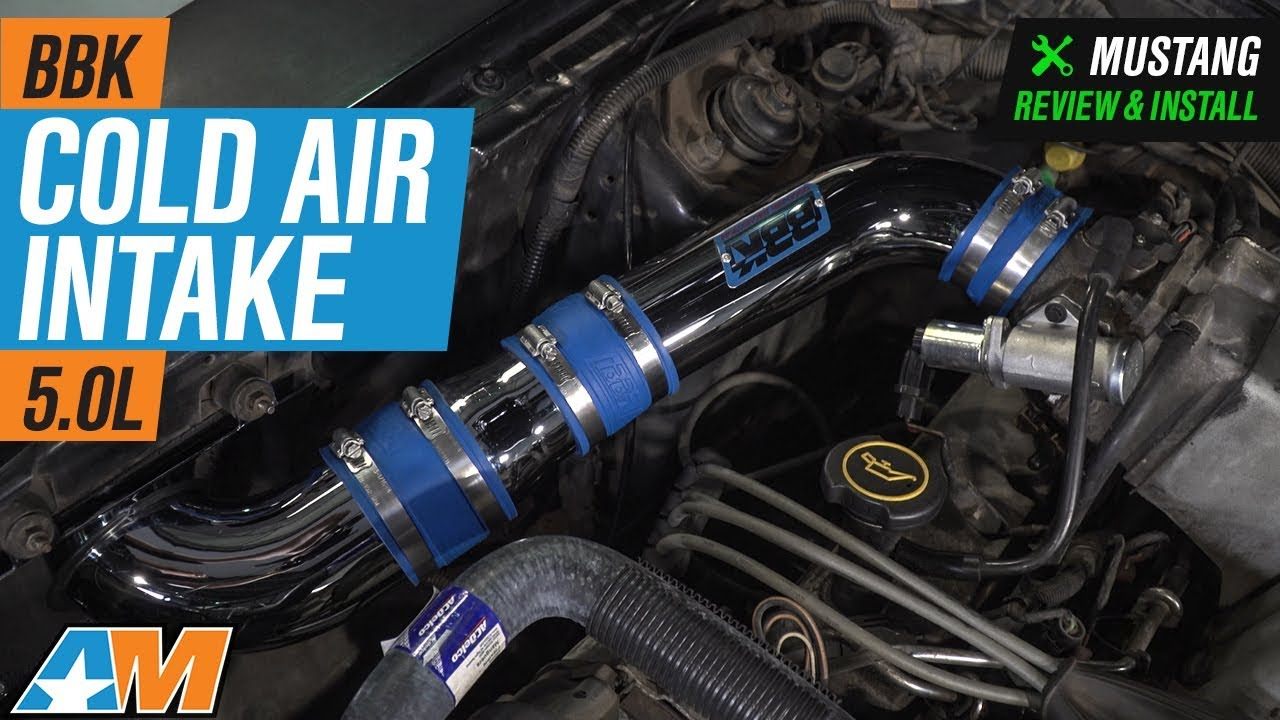 1986 1993 Mustang 50l Bbk Cold Air Intake Review Install Youtube 88 Fuel Filter Location