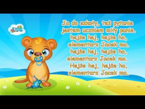 Zestaw piosenek dla przedszkolaków