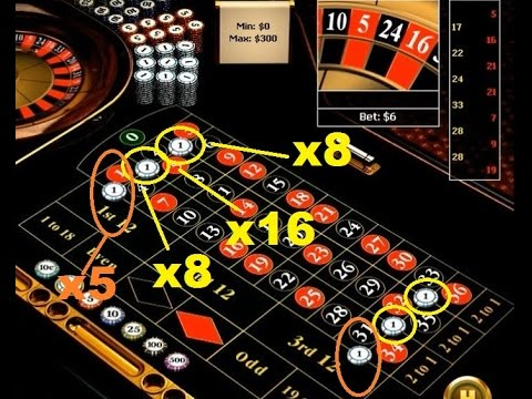 "Betting 2 ""Six Line"" + 4 ""Corner"" on roulette as a strategic game."
