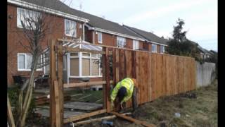 6ft Fence Pressure Treated Wood Timber Boards Tantalised Ready Coloured