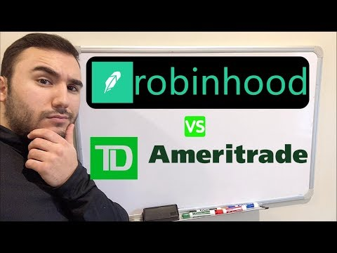 ROBINHOOD vs. TD AMERITRADE | Which to use in 2019??