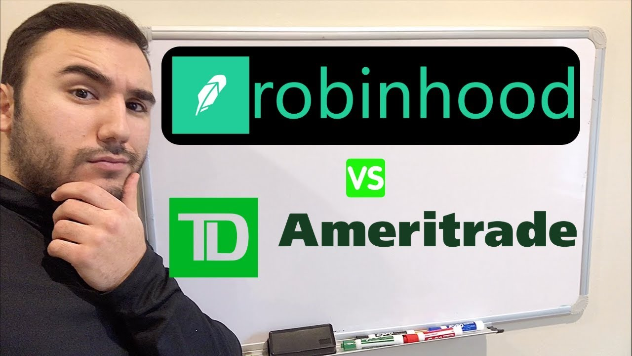ROBINHOOD vs  TD AMERITRADE | Which to use in 2019??
