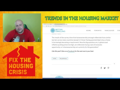 TRENDS IN THE HOUSING MARKET 28/05/2017