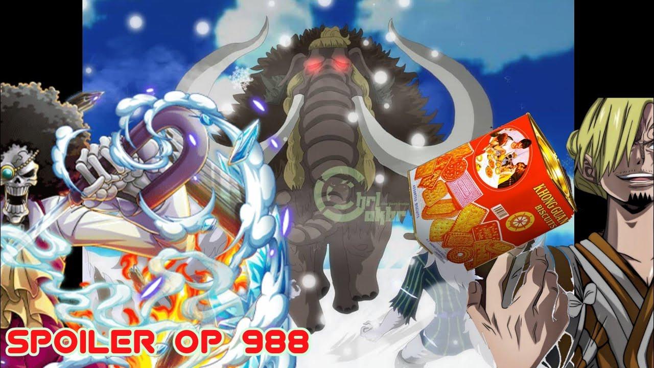 Spoiler One Piece 988 Fix Sulong Minks Vs Jack Sanji Vs King Brook Vs Big Mom Youtube