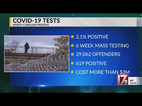 COVID-19 Tests In NC Prisons