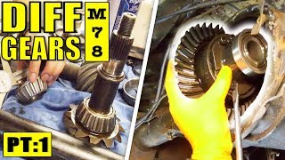 THE MOST COMPREHENSIVE DIFF GEAR INSTALL | VR V6 TURBO COMMODORE - M78 | PART 1