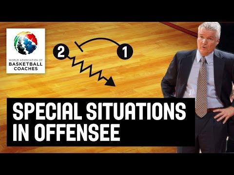 Special Situations in Offense - Brian Hill - Basketball Fundamentals