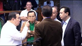 Trillanes, Gordon trading insults mars BOC hearing