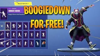 "HOW TO GET THE ""BOOGIEDOWN"" EMOTE/DANCE FOR *FREE*?! FULL GUIDE! - Fortnite Leaks & Best Moments"