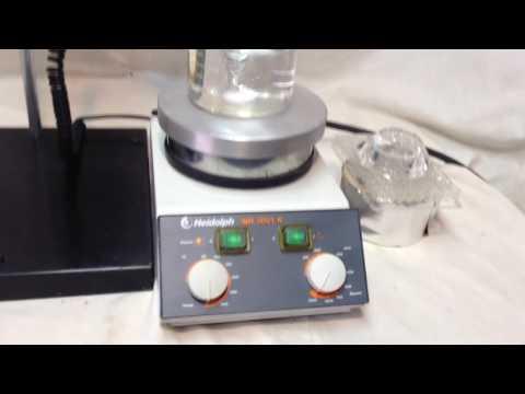 Heidolph 3001 Series Magnetic Stirring Hotplate + Heidolph EKT 3001 Contact Thermometer