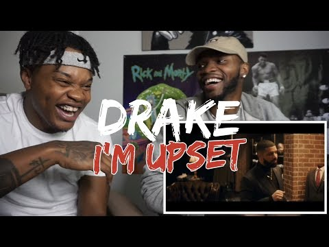 Drake - I'm Upset - OFFICIAL VIDEO - REACTION