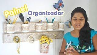 Painel Organizador com reciclagem