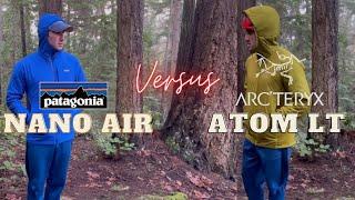 Patagonia Nano Air Vs. Arcteryx Atom LT: Active Midlayer Jacket Showdown