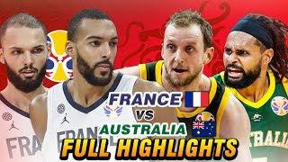 FRANCE vs AUSTRALIA  \