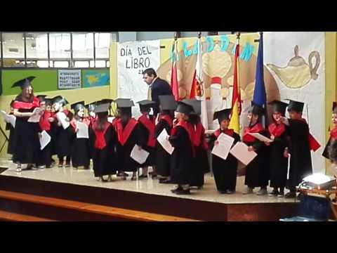 Gradución Educación Infantil CP Santa Juliana CURSO 2015 2016