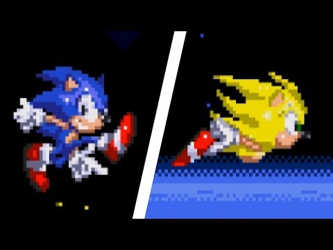 Cooler Sonic in Sonic 3 & Knuckles | Sonic Hacks ⮚ Gameplay
