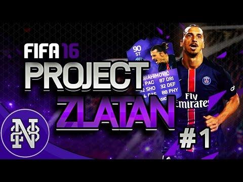 Project ZLATAN #1 - HERO IBRAHIMOVIC RTG SERIES INTRO!!! - FIFA 16 Ultimate Team