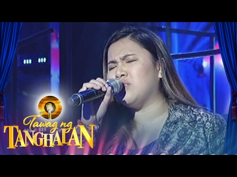 Tawag ng Tanghalan: Amme Faith Mena | When I Look At You