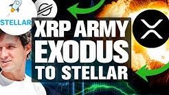 XRP Army Exodus to Stellar. LOL