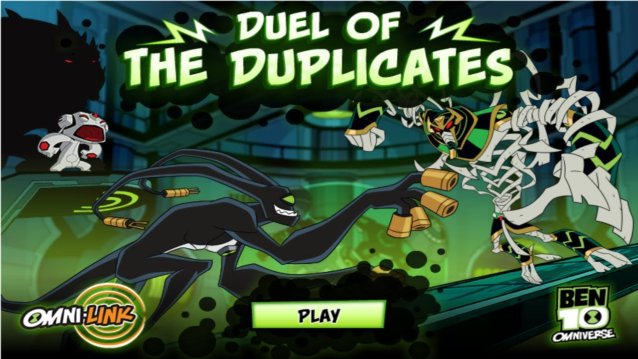 Cartoon Network Games Ben 10 Omniverse Duel Of The