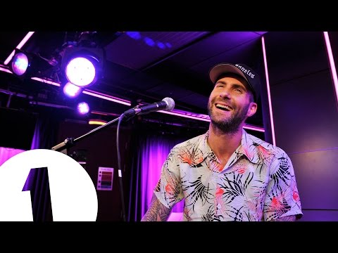 Maroon 5 cover Pharrell's Happy in the Live Lounge