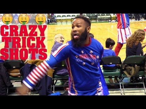 CRAZY Trick Shots | Harlem Globetrotters