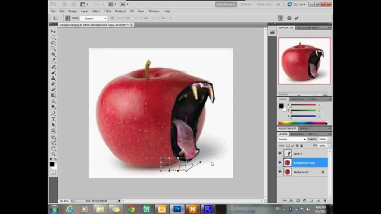 how to use adobe photoshop cs5 apple tiger - YouTube