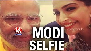 B-town stars queued up to click selfie with PM Narendra Modi