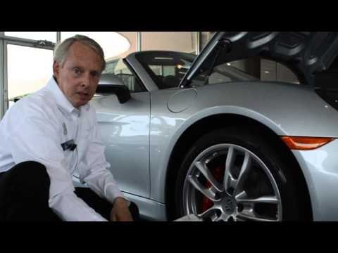 How to fix a flat tire on your Porsche