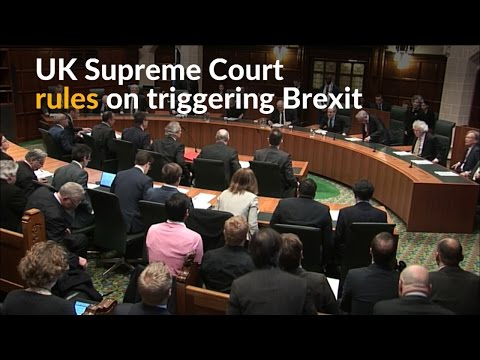 UK Supreme Court just derailed Theresa May