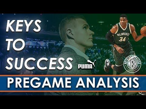 Can the Knicks Bounce Back!? | New York Knicks vs Milwaukee Bucks LIVE Pregame