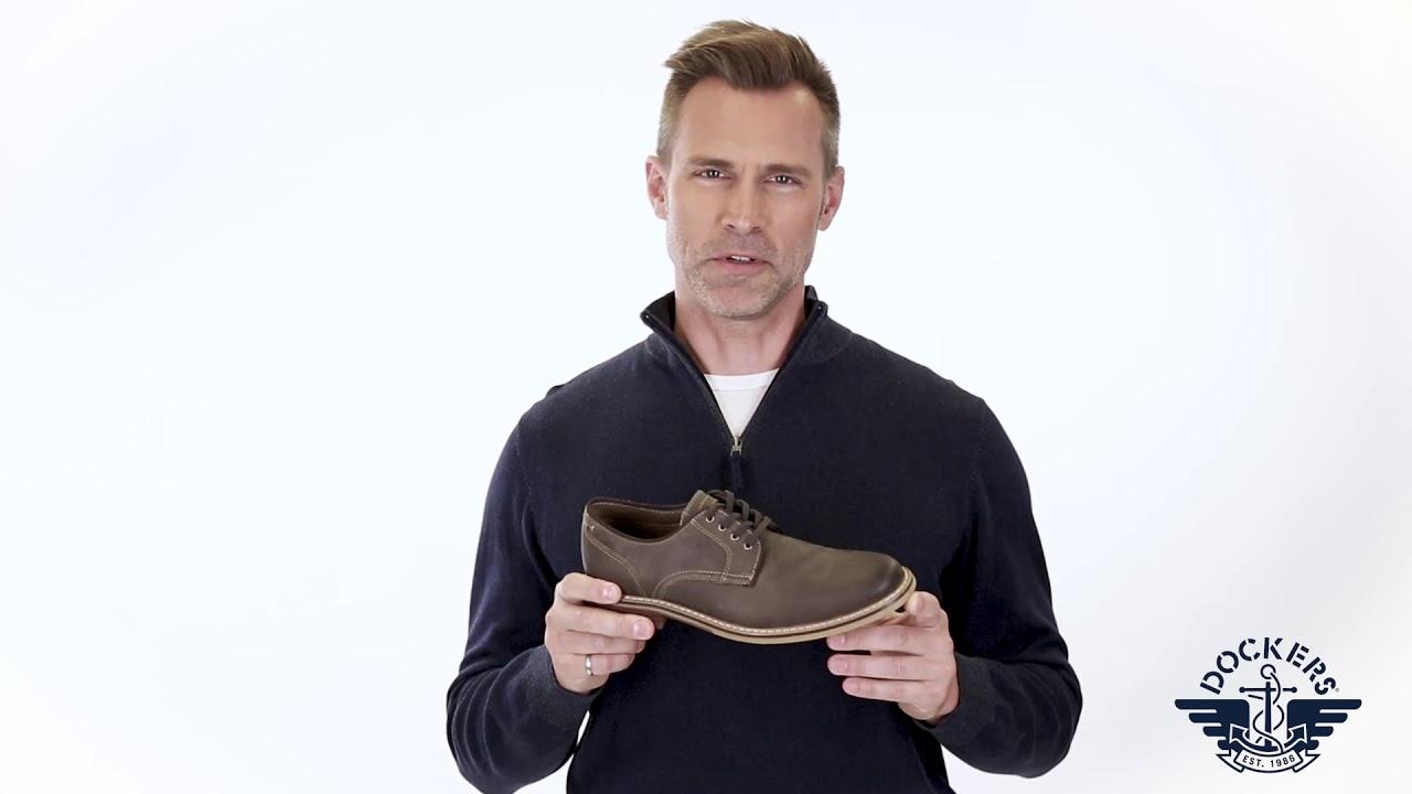dockers Martin Chaussures d/écontract/ées en Cuir Oxford pour Homme