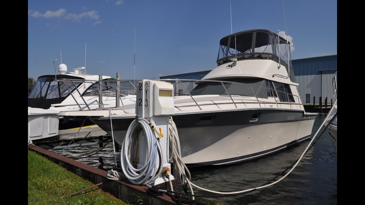 1986 Silverton 34 Convertible -- Sold