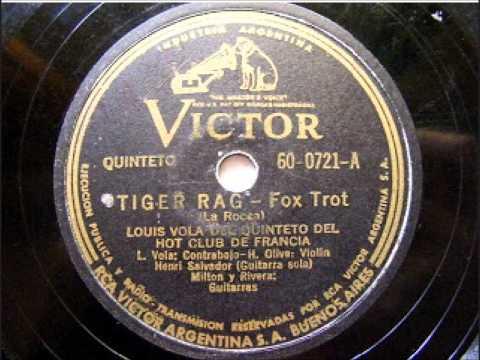 Louis Vola   Tiger Rag 1945