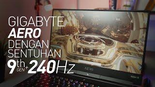 Intel 9th Gen, Boleh lah !!! Layar 240Hz di LAPTOP ??   Review Gigabyte Aero 15 Classic XA