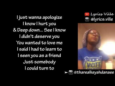 Lakeyah Danaee - If You Just Let Me (Lyrics)