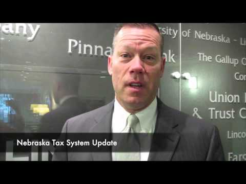Nebraska Tax Reform Update