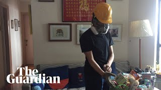 Hong Kong: a day in the life of a protester