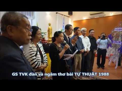 Tang lễ cố GS Trần Văn Khê năm 2015