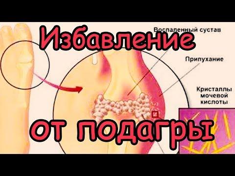 Как Избавиться от Подагры [10 продуктов растворят кристаллы мочевой кислоты и избавят от подагры]