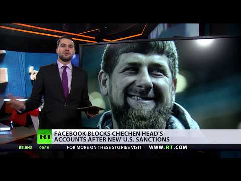 Face-off: Facebook blocks Chechen head's accounts after new US sanctions