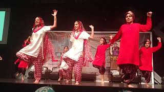 Firstvtime bhangra by yuv and yuvika