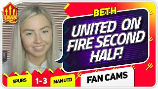 BETH! POGBA WAS UNREAL! Tottenham Hotspur 1-3 Manchester United Match Fan Cam