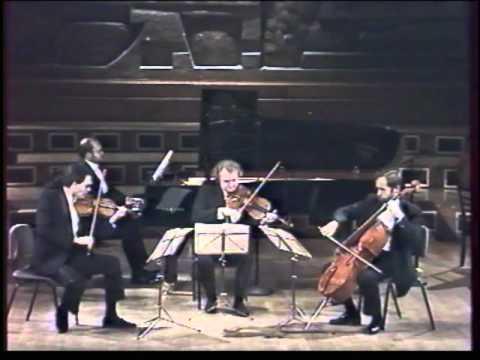 Fauré Piano Quartet No.1 in C minor Op.15 (Paris 1996)