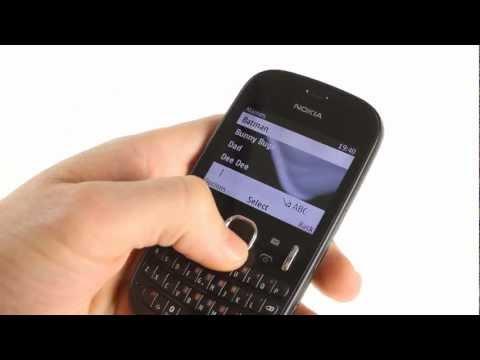 Nokia Asha 200 user interface demo