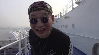 가수장고 janggo/사주팔자 /중국 청도 선상 버스킹 / 중국 청도 크루즈/ kpop star janggo