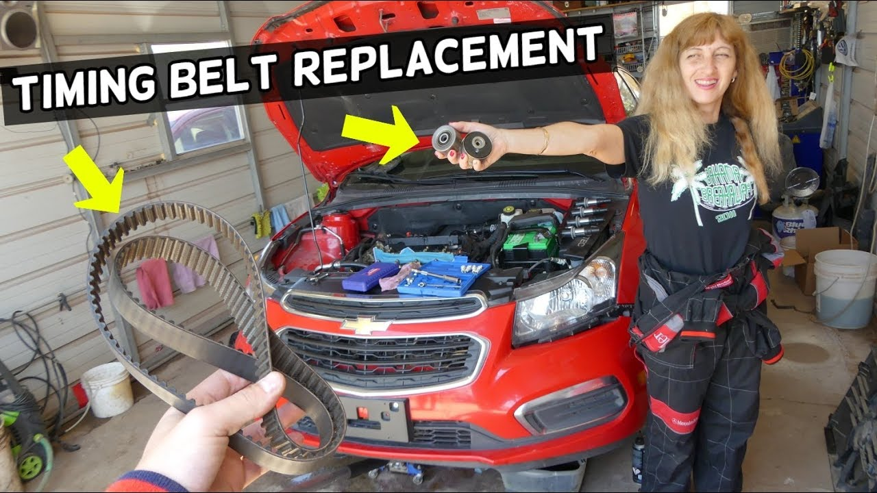 How To Replace Timing Belt On Chevrolet Cruze Chevy Sonic 1 8 1 6